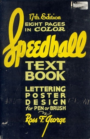 21 best speedball lettering textbooks images on pinterest speedball textbook lettering poster design for pen or brush cover malvernweather Gallery