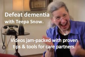 Dementia care pioneer Teepa Snow has developed a simple technique that anyone (i.e you and me) can easily learn and use to help connect with as well as comfort a person with dementia. Using the tec…