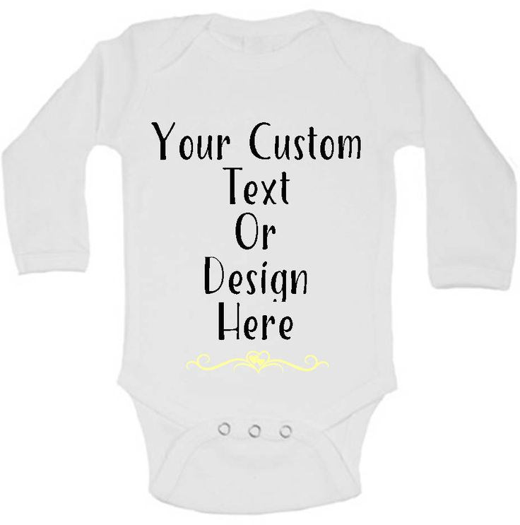 Custom Baby Clothes, Personalized Baby Gifts, Custom Baby Outfit, Custom Bodysuit, Customize Baby Girl Clothes, Baby Boy Clothes Logo Design by AdelynRoseBoutique on Etsy