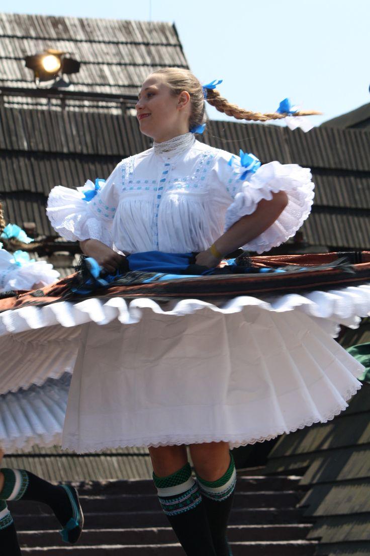 Folk costume of Slovaks from village Stará Pazova, Vojvodina province, Northern Serbia