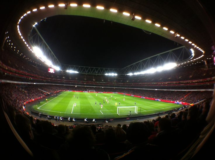 Emirates Stadium in Highbury, Greater London