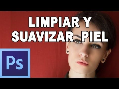 ▶ Limpiar y suavizar piel con photoshop - Tutorial Photoshop en Español por @Natasha C P Tutoriales (HD) - YouTube