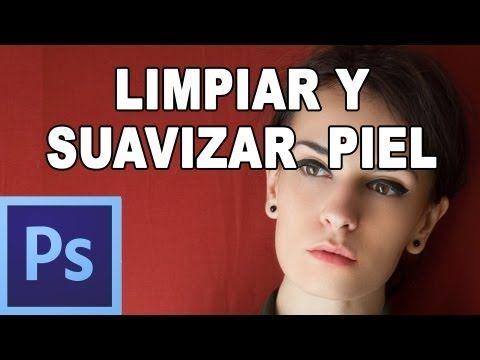 Limpiar y suavizar piel con photoshop - Tutorial Photoshop en Español (HD) - YouTube