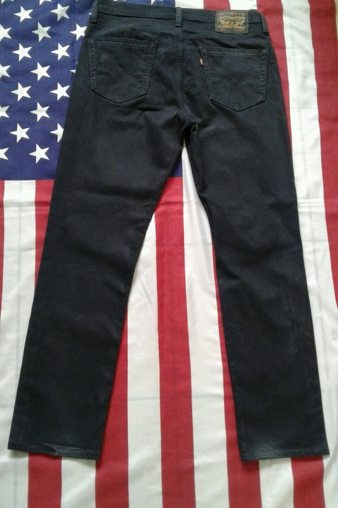 LEVIS 511 Slim navy blue lightweight Denim trousers Jeans  W 34' L 31'.  LEVI #Levis #SkinnySlim