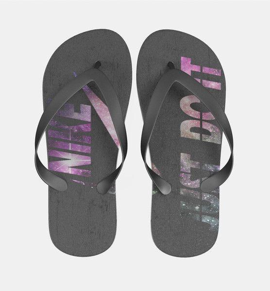 Nike Just Do It Galaxy Nebula 1 Flip Flops Men Women