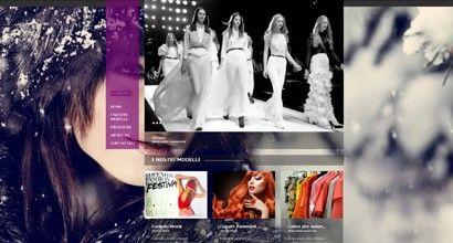 Template Moda e Bellezza 002 e – Full Image