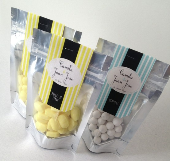 Sweet candy favors