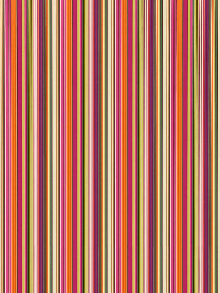 Scion Strata Wallpaper, 110219 Striped wallpaper, Green