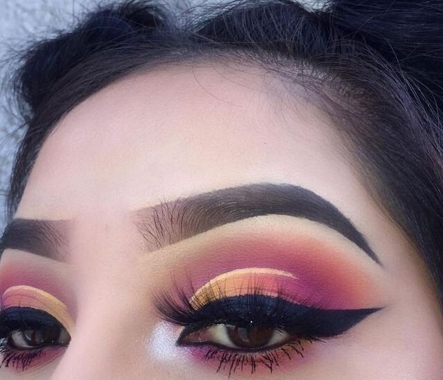 Best 25+ Sunset makeup ideas on Pinterest | Colorful ...