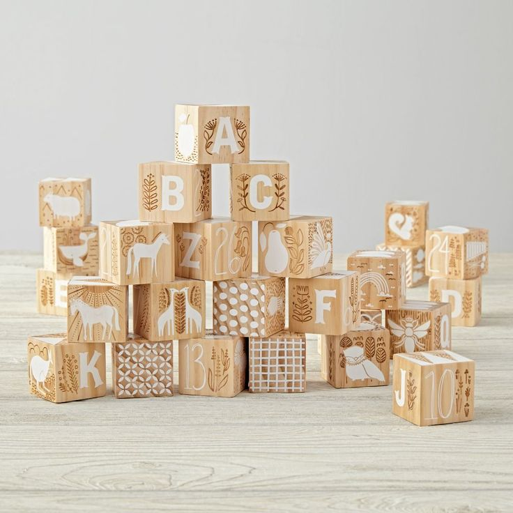 No batteries required with our wooden toys, wooden blocks and wooden puzzles. Shop classic and traditional wooden toys for kids and babies at The Land of Nod.
