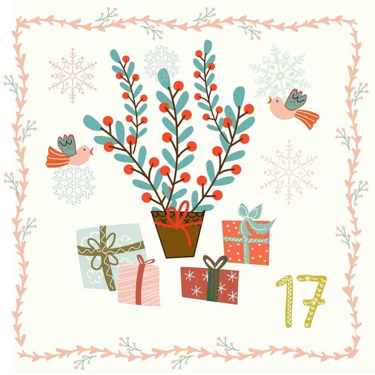 17. nap  #illo_advent Day 17