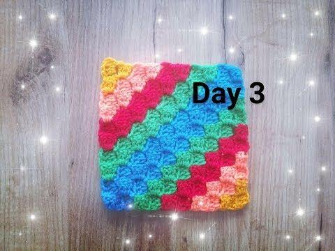 Dzień 3 - C2C na szydełku part 1/2- crochet corner to corner day 3 - 30