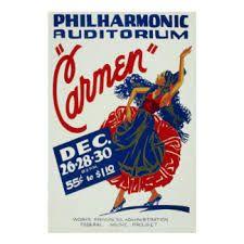 Bildergebnis für carmen oper plakat