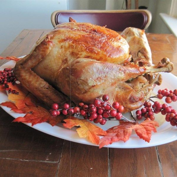 "Perfect Turkey | ""A perfectly seasoned and juicy turkey."""