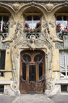Art Nouveau architecture - Paris, France