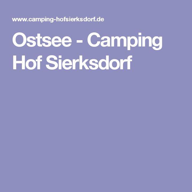 Ostsee - Camping Hof Sierksdorf