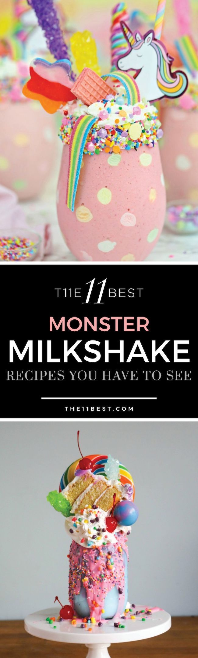 INSANE Monster Milkshake recipes you have to see to belive!