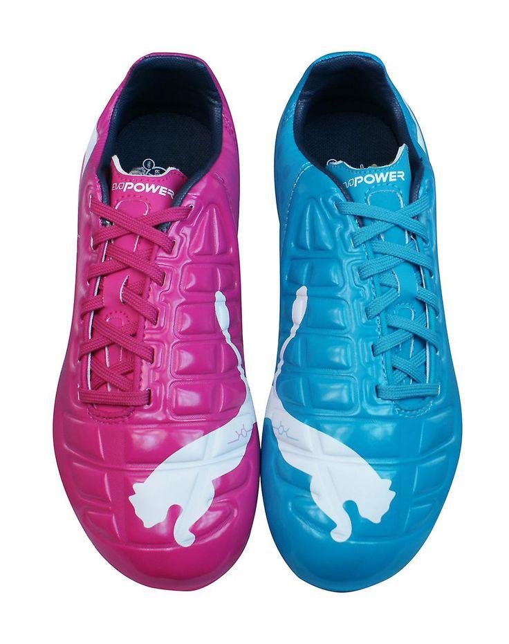 Puma EvoPower 3 Tricks FG Boys Football Boots / Cleats - Blue and Purple - https://www.fruugo.co.uk/puma-evopower-3-tricks-fg-boys-football-boots-cleats-blue-and-purple/p-6667083