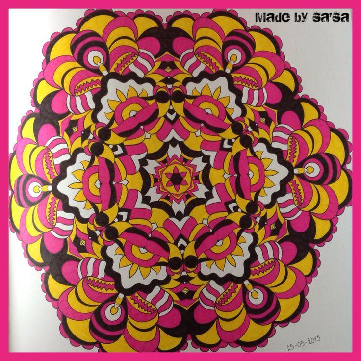 Het Enige Echte Mandala Kleurboek (deel 1) -Mandala nr. 42