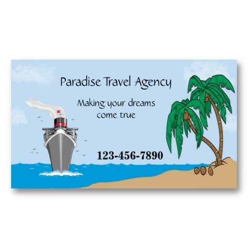 17 best images about travel agent business cards on pinterest