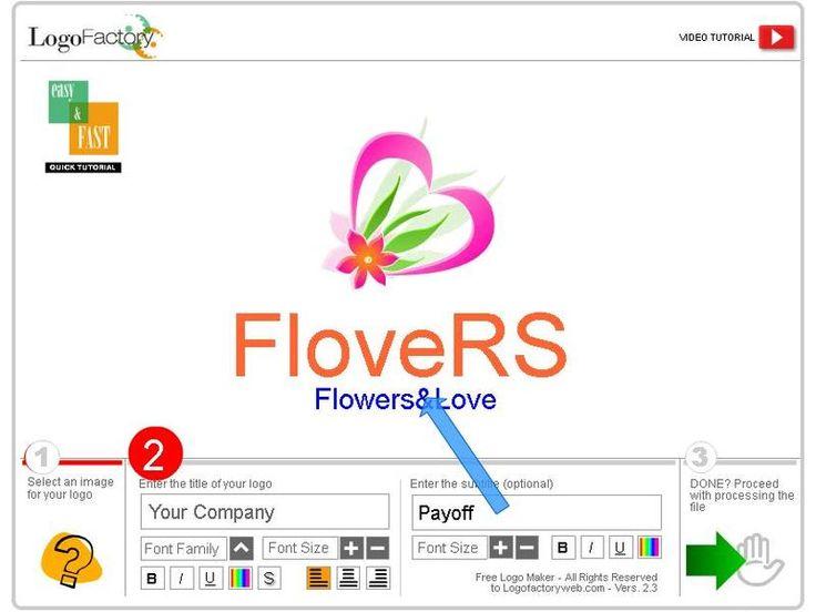 Logo Factory es una herramienta web gratuita, no es necesario registro, para crear logotipos fácilmente y en apenas 3 simples pasos.