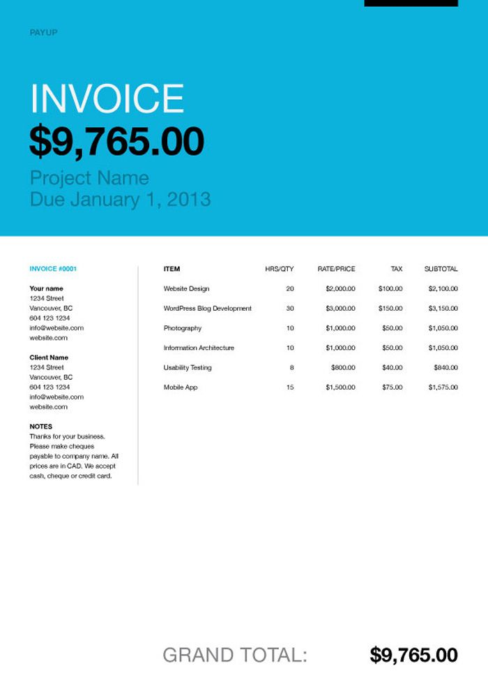 8 best invoice design images on Pinterest Invoice design - fake invoice maker