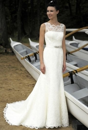 Robe Mariée Augusta Jones Dentelle T36 prix d'origine 2800€ - Yvelines | Robes de mariée d'occasion | Scoop.it