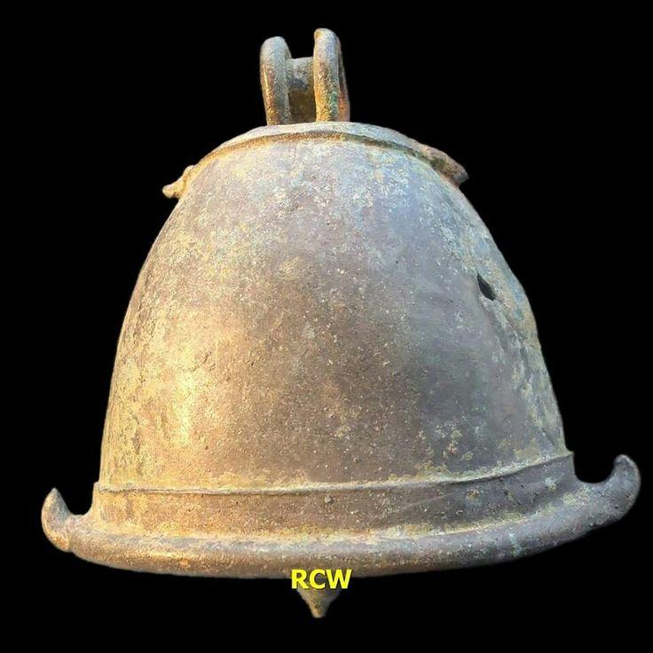 Animal bell, bronze, origin Mojoroto-Kediri-East Java province-Indonesia, circa 15th-16th century (late Majapahit Kingdom period)