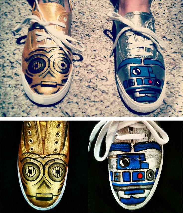 Star wars sneakers.