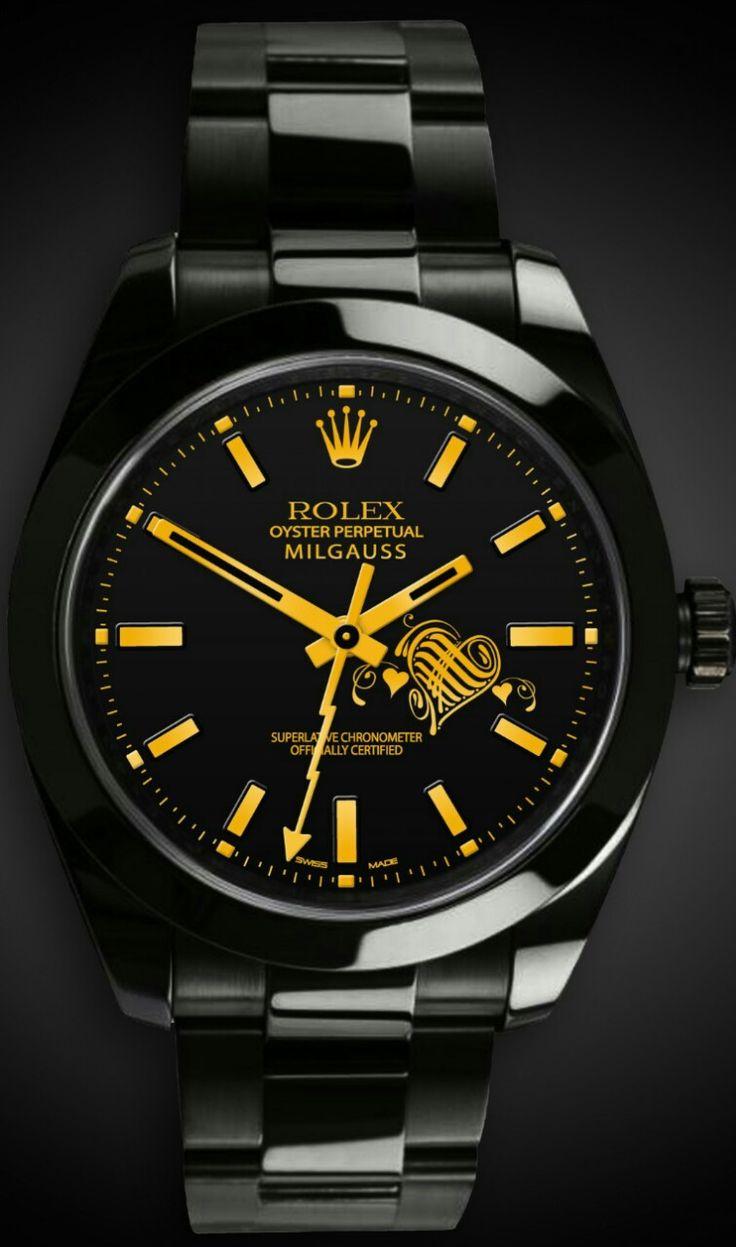 Exquisite-Rolex Mens watch Oyster perpetual.Titan Black #watch #rolex #black