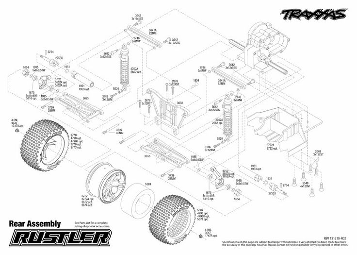 a1839ed6cd01a47fcf0b42f7a4996367 traxxas rustler rear end assembly traxxas rustler project pinterest traxxas RC Wiring Diagrams at virtualis.co