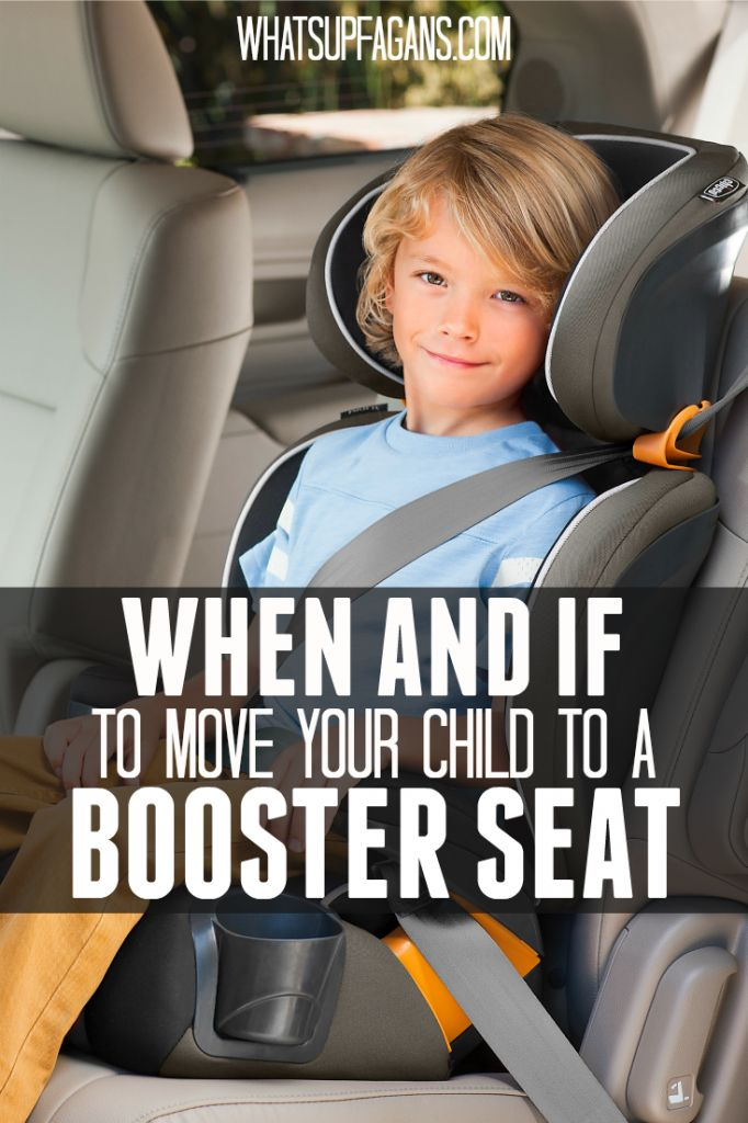It's so important to understand car seat safety. And one of the biggest things all parents need to know is when and if to move a child to a booster seat. Great information and tips here!