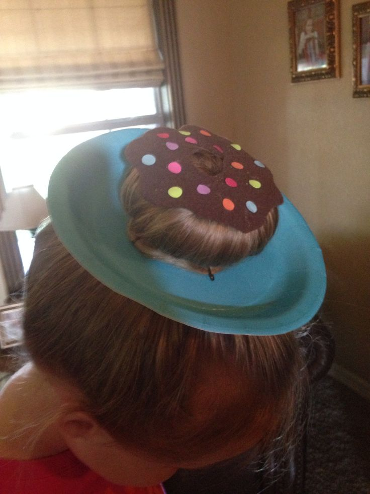 Hahahah thats so cute. Great for crazy hair day