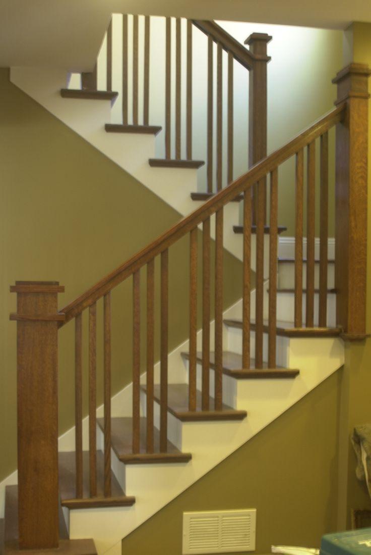 Craftsman Stair Railings | Flecktastic: Our Craftsman Staircase |