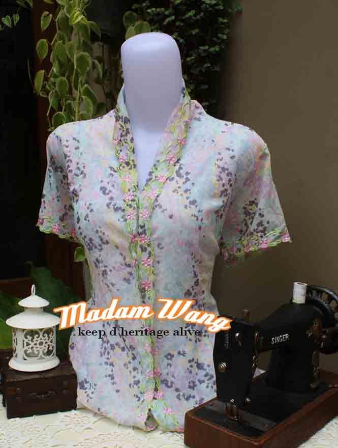 kebaya rubia by madam wang, pastel color