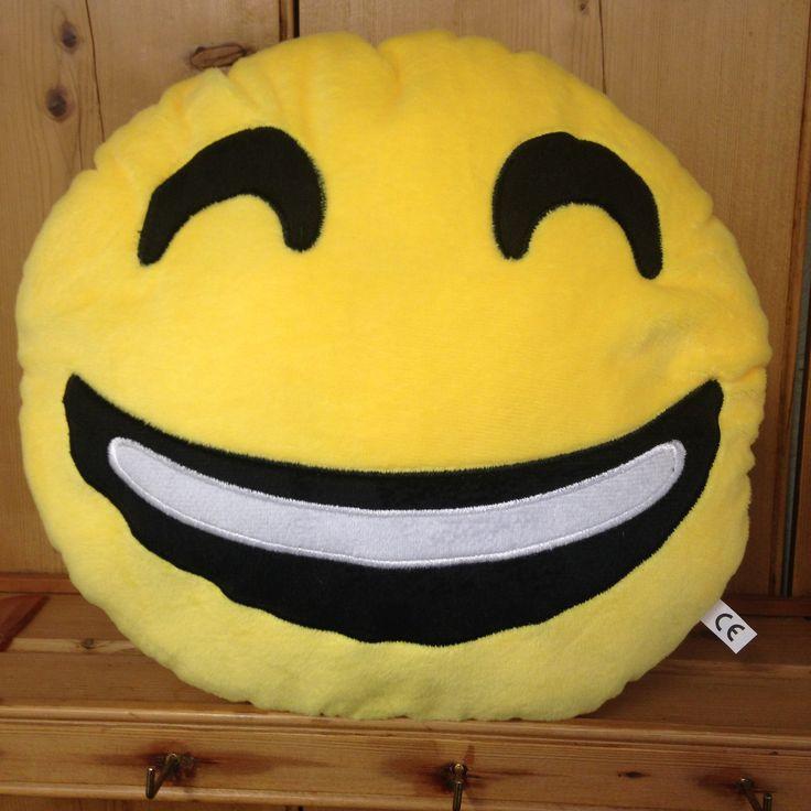 Smiling Emoji Cushion - yourgifthouse