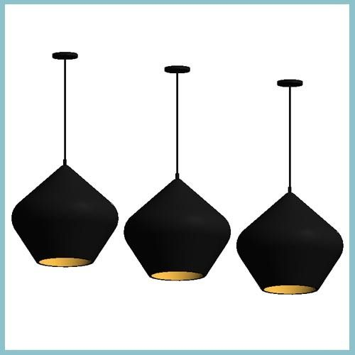 Beat Stout Large Pendant Light (Autodesk Revit