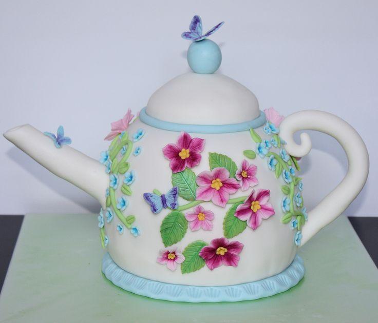 Teapot Cake - Theepot Taart