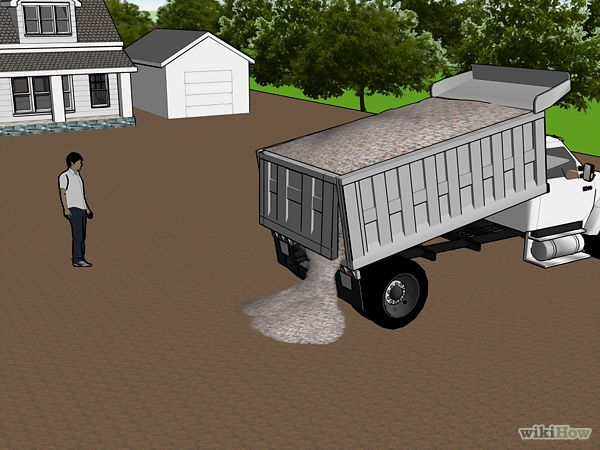 Make a Gravel Driveway - wikiHow