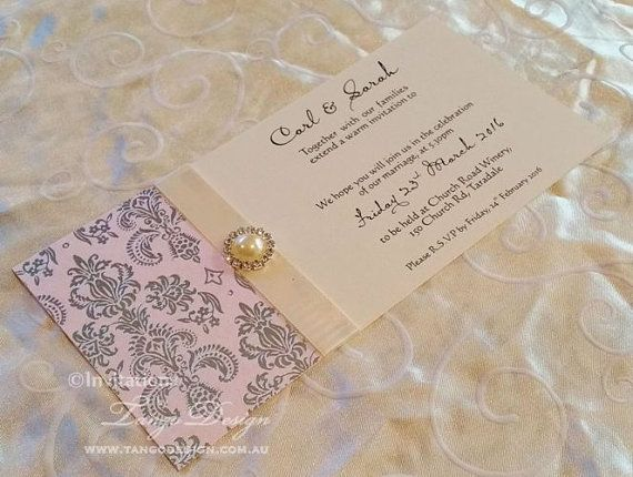 Bling Wedding Invitations: 25+ Best Ideas About Bling Wedding Invitations On