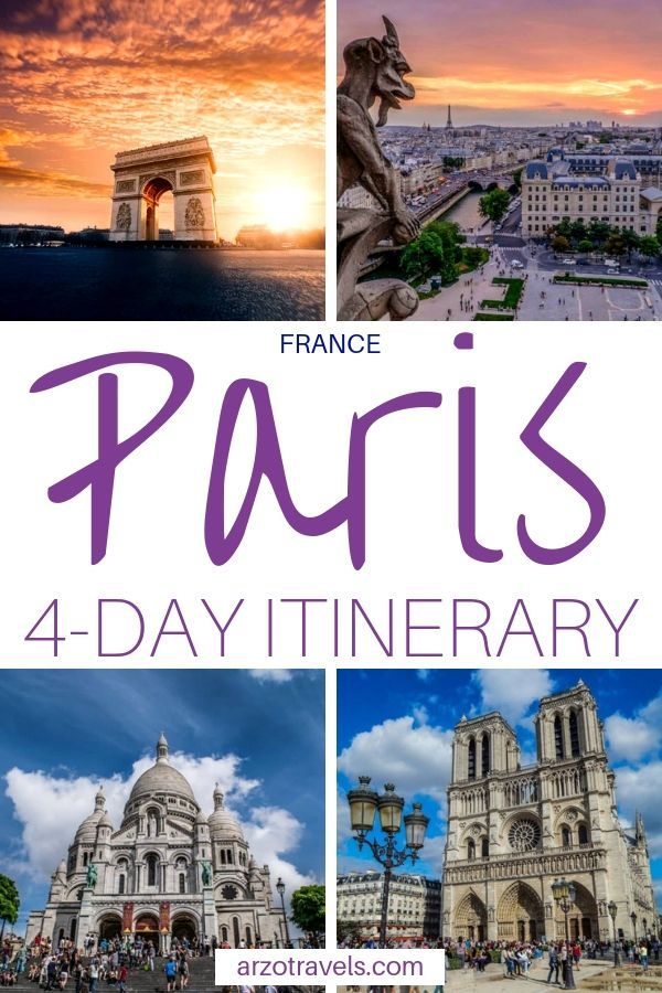 Best How To Enjoy An Epic 4 Day Paris Itinerary Arzo Travels Europe Travel Europe Travel Destinations Paris Travel
