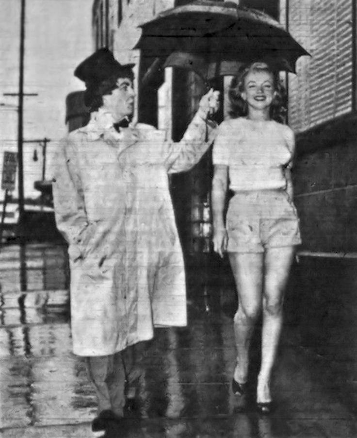 Harpo Marx-Marilyn Monroe