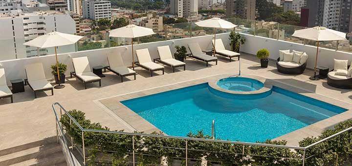 La piscina del hotel en el aeropuerto de lima   Hotel en el aeropuerto de Lima   Costa del Sol