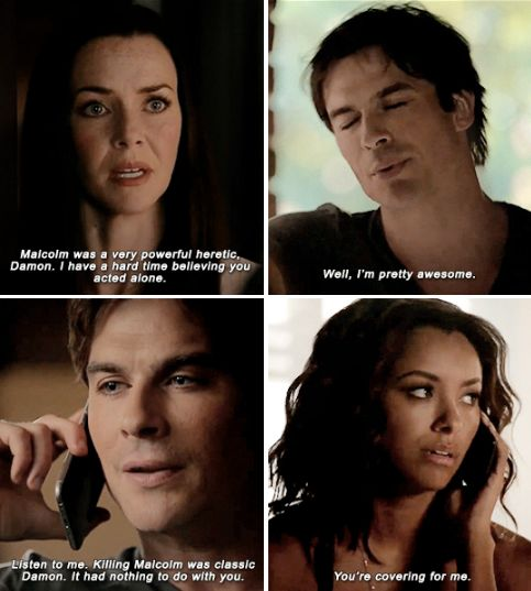 Tvd 7x02 Quot Never Let Me Go Quot Damon Bonnie And Lily Tvd