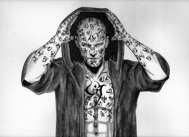 Arlen - The Painted Man by adamreese2006.deviantart.com on @DeviantArt
