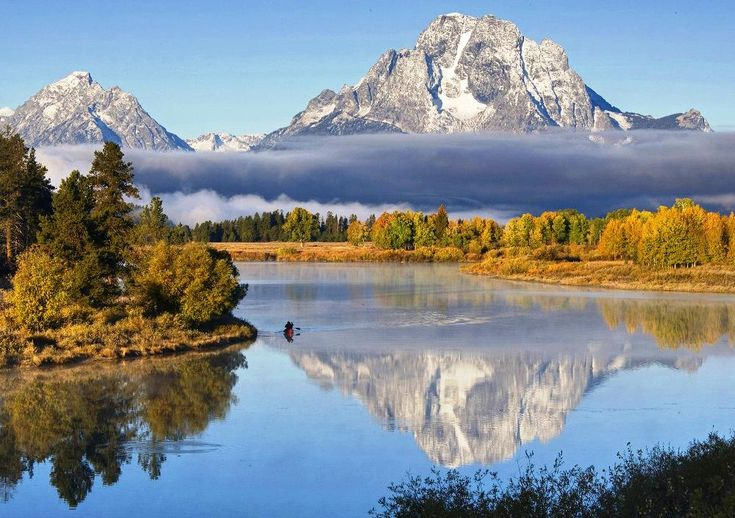 At 13,775 feet (4,199 meters), Grand Teton is the highest point in the Teton range in Wyoming and considered one of the most formidable mountain climbs in the United States.