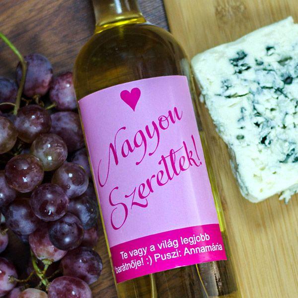 Barátoknak, kollégáknak, évfordulóra vagy egy romantikus vacsorához tökéletes ajándék lehet egy üveg bor egy különlegesen egyedi címkével. Legyen szó buliról, köszöntetmondásról vagy elismerősről, biztosan sikert arad ezzel az egyedi ajándékkal. A fényképes borosüveg címke mérete 9x12cm.Az ár csak a címkét tartalmazza.