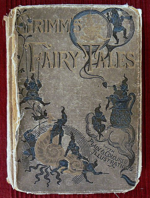 old and grimm by ed ed, via Flickr...I'm wanting to find a kid friendly version for Asher and Michaela but not the watered down Disney versions either..