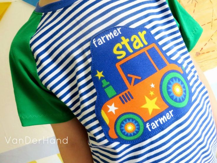 Nähbeispiel lillestoff » Farmer Star «
