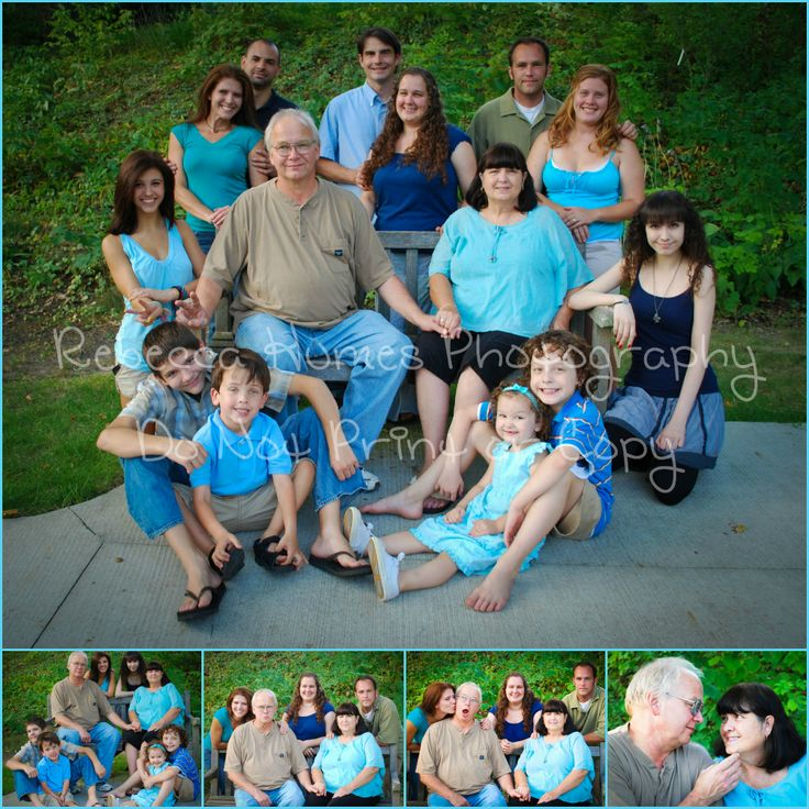https://www.facebook.com/RebeccaHumesPhotography?ref=hl Family large group portrait ideas photography